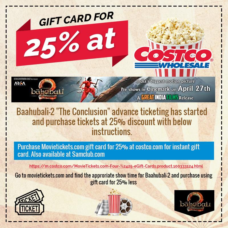 Bahubali -2 in North America - Great India Films